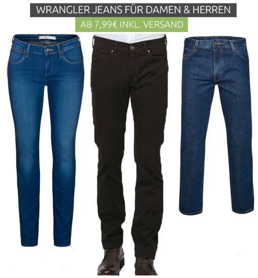 Wrangler Jeans und Hosen im Sale ab nur 7,99€