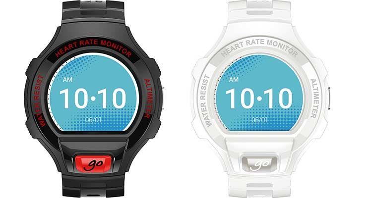 alcatael go Alcatel ONETOUCH GO Watch SM03 Schwarz/Rot oder Weiß/Grau für je 59€ (statt 70€)