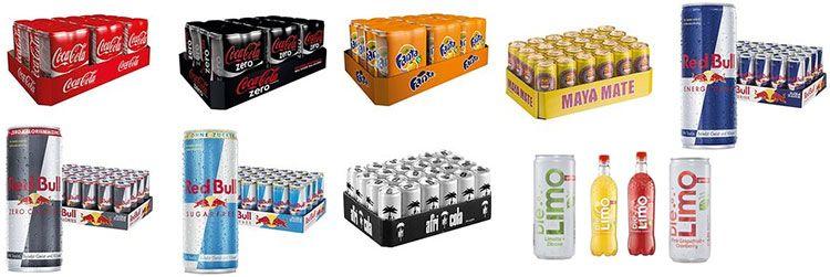 ama bull Coca Cola, Red Bull, Maya Mate, Afri Cola & Die Limo bis zu 37% günstiger