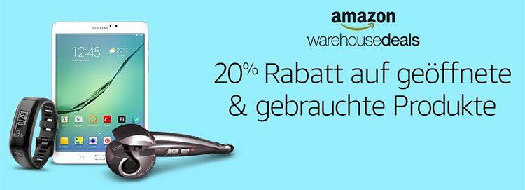 amazon ware tease Amazon Prime TOP Übersicht   z.B.  20% auf Warehousedeals   viele gute Aktionen bis Mitternacht