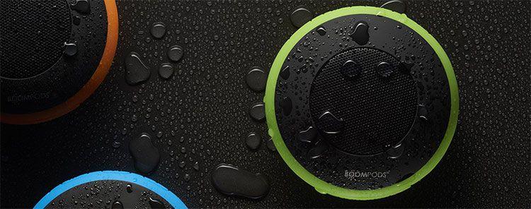 Boompods Aquapod   Bluetooth Lautsprecher mit Freisprechfunktion für 29,99€ (statt 41€)