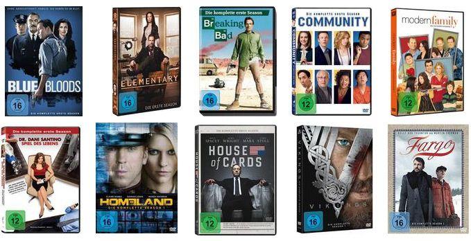 1. Staffeln von TV Serien reduziert + 12% Gutschein