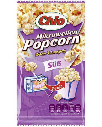 11er Pack Chio süßes Popcorn für 8,96€   SCHNELL SEIN