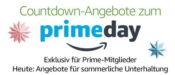countdown Reduzierte Konsolen und PC Games + Filme & Serien heute im Prime Day Countdown