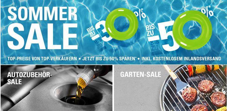 eBay Sommer SALE mit 50 Rabatt SOMMER SALE bei eBay! Jetzt bis zu  50% auf Handys, Tablets, Grills, Kleidung ...uvm. TOP!