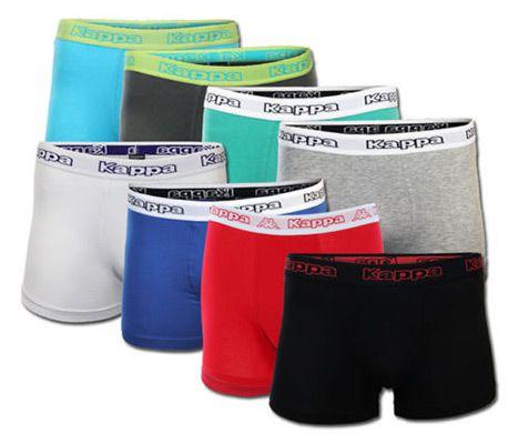 ebay kappa acht Kappa 8er Pack Boxershorts verschiedene Farbsets für je 24,99€