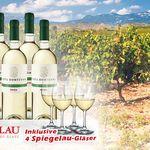 8 Flaschen Viña Hortensia Rioja + Spiegelau Weißweingläser für 39,90€