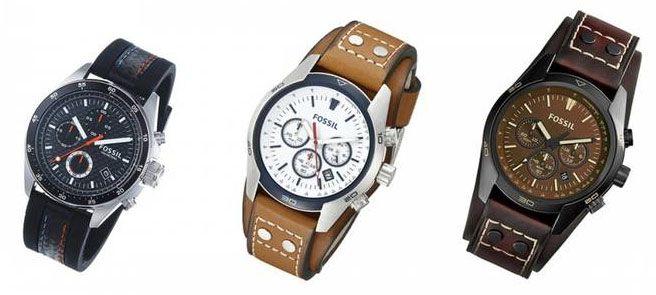 Verschiedene FOSSIL Herren Uhren ab 74,95€ (statt 108€)