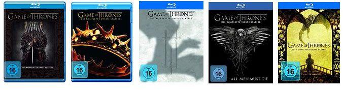 Game of Thrones   Einzelne Staffeln ab 9,50€ & Collectors Edition (1 5) für 124,97€ statt 199€