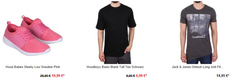 Hoodboyz mit 50% Rabatt auf ausgewählte Artikel   auch adidas, Jack & Jones, ONeill uvm.