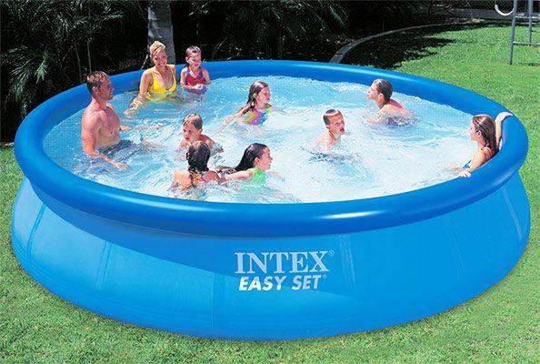 Intex 56410   Easy Set Pool (457cm x 91cm) für 54,99€ (statt 75€)