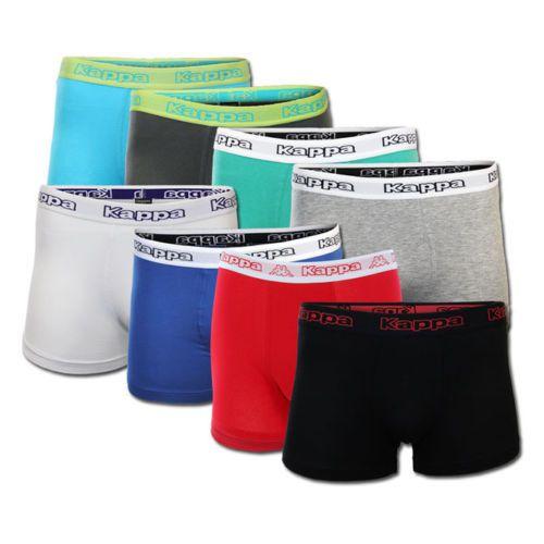 Kappa 8er Pack Boxershorts verschiedene Farbsets für je 24,99€
