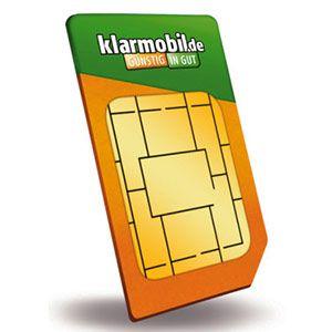 Klarmobil im D1 Netz mit 100 Freiminuten & 500 MB FLAT (7,2MBit/s) für 3,95€ mtl.
