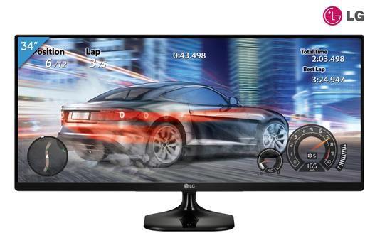 LG 34UM58 P   34 Zoll 21:9 UltraWide Monitor für 319,20€ (statt 395€)