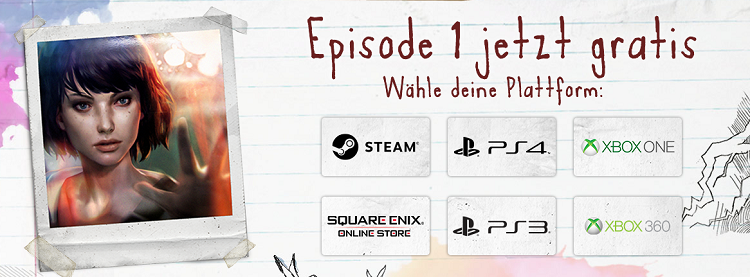 Life is Strange Episode 1 gratis   für PC, PlayStation und Xbox