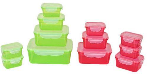 maxxcuisine Frischhaltedosen MaxxCuisine 24 Frischhaltedosen Set mit Klick It System für 11,90€ (statt 21€)