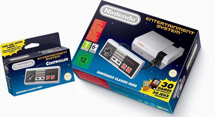 Nintendo Classic Mini NES kaufen + Controller ab 159€