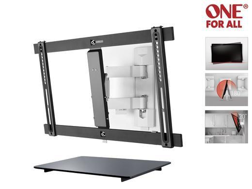 """One For All Ultra Slim SV 6650 TV Wandhalterung 32"""" 70"""" + Universal Zubehörregal für 88,90€ (statt 129€)"""