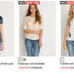 Orsay: 20% Rabatt auf ALLE T-Shirts und Blusen