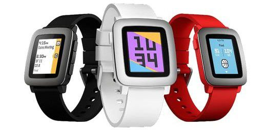 pebble time smartwatch e1471678839686 Pebble Time Smartwatch  (statt 115€) für 79,90€