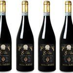 6 Flaschen Miliasso – 8 Vites – Piemonte DOC Rosso für nur 34,89€ inkl. Versand