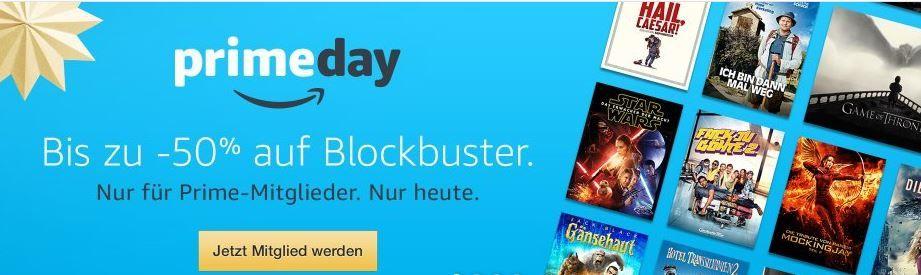 prime Day Blockbuster Blockbuster und mehr Amazon Prime Filme heute ab nur 0,99€