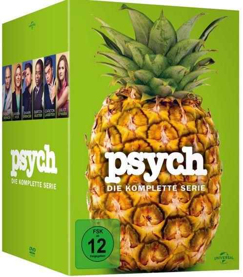 psych Box PSYCH   die komplette Serie [DVD] für 30€ (statt 73€)