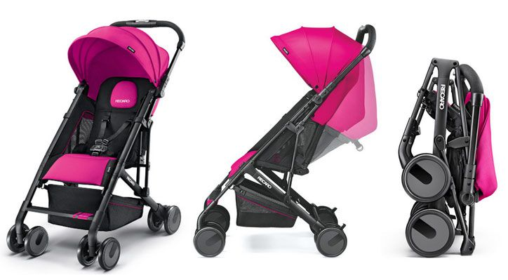 recarobuggy Recaro Easylife Pink Kinderwagen für 148,79€ (statt 180€)