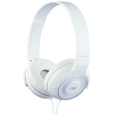 s220 JVC HA S220 W E On Ear Leichtkopfhörer in weiß für 16€ (statt 30€)