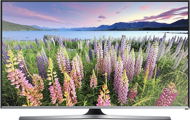 samsung ue48j5570 Samsung UE48J5570SU – 48 Zoll TV (Full HD, Triple Tuner, Smart TV) für 449€ (statt 505€)