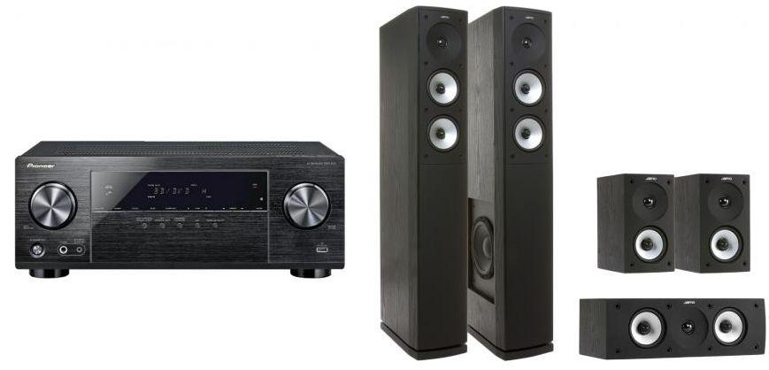 Pioneer VSX 531 B + S 626 HCS 3 im Set für 649€ (statt 754€)