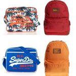 Superdry Taschen – viele Modelle und Farben für je 17,95€