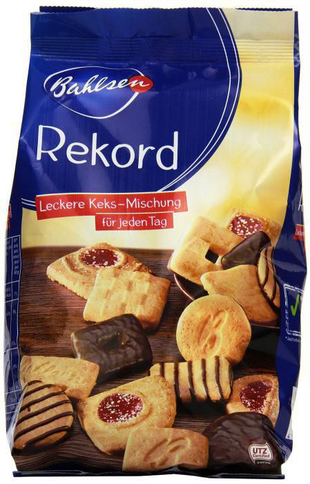 Preisfehler ? 12er (12x 350g) Pack Bahlsen Rekord Gebäckmischung für 13,25€ inkl. VSK