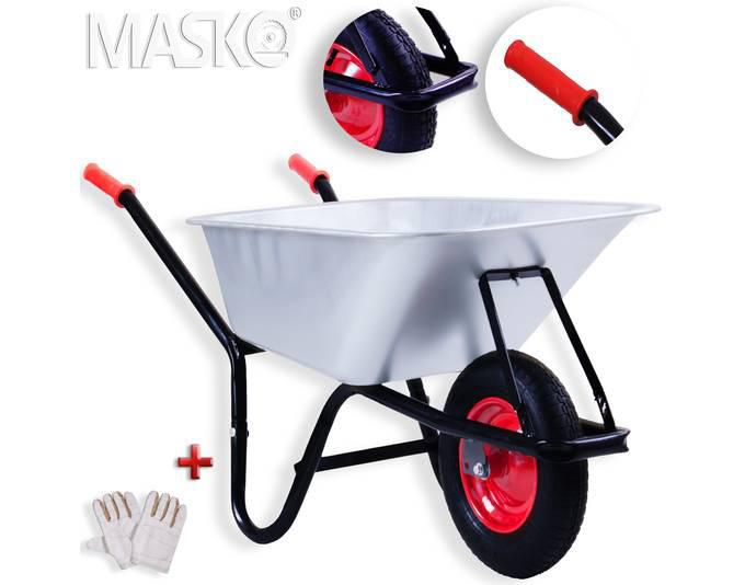 Masko Schubkarren (versch. Modelle) bereits ab 31,95€ inkl. VSK