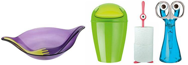 vente Koziol SALE  65%, z.B: Taschen für 2€ oder Mülleimer für 7€