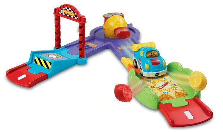 vtech tttoot VORBEI   vTech Toot Toot Drivers Press and Go Launcher Deluxe für 8,46€ (statt 25,60€)
