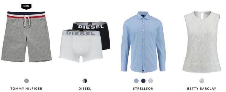 Bis zu 70% Rabatt im engelhorn Final Sale   z.B. 3er Set Diesel Boxershorts für 28,85€ (statt 36€)