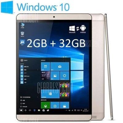 Onda V919 Air   9,7 Zoll Retina Tablet mit Win 10 + Android für 119,60€ (statt 140€)