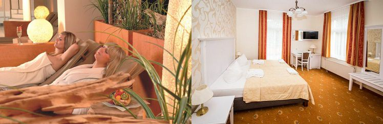 3 2, 3 oder 5 Nächte auf Usedom im 4* Hotel inkl. Frühstück, Champagner, Badelandschaft ab 89€ p.P.