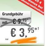 100 Minuten + 500MB Daten Flat im Telekom Netz nur 3,95€ mtl.