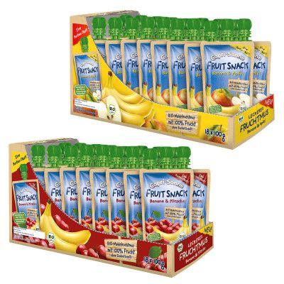 5716 e1472973176876 Capri Sonne FRUIT SNACK Banane & Apfel / Kirsche 2 x 18 x 100ml für nur 9,95€