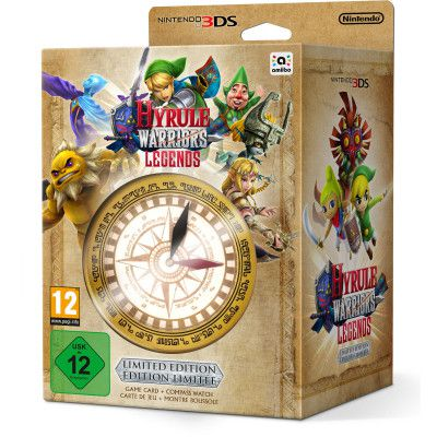 Hyrule Warriors: Legends Limited Edition (3DS) für 29€ (statt 37€)