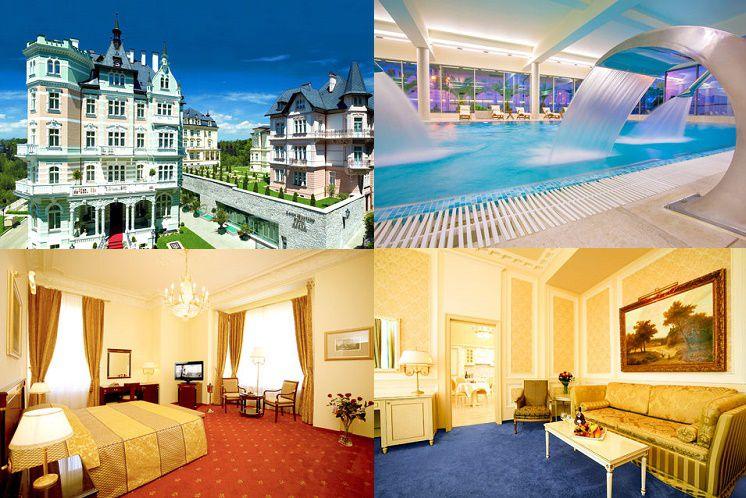 2   7 ÜN & Wellness im 5* Hotel Savoy Westend in Karlsbad ab 149€ p. P.