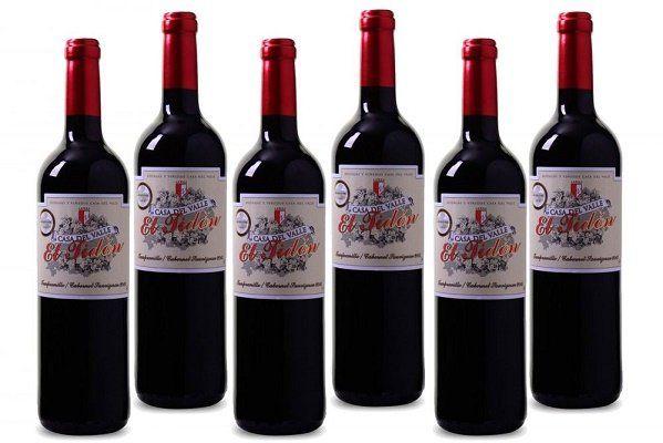 6 Flaschen Casa del Valle Cabernet für 24,94€   goldprämierter Rotwein