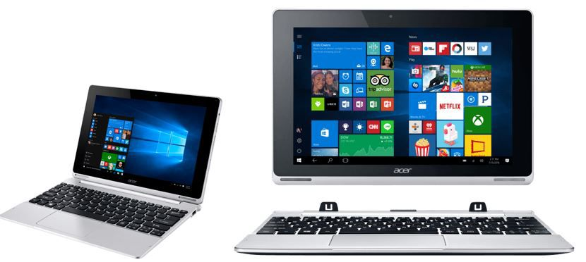 ACER Aspire Switch 10 Convertible ACER Aspire Switch 10 SW5 015   10.1 Zoll FullHD Convertible für 199€