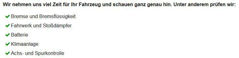 Achs Kontrolle Gratis Kfz Check bei Vergölst   bis 18.03.2017