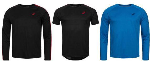 ASICS Herren Running Shirts oder Shorts für je 13,99€