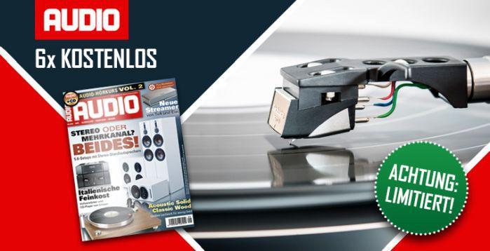 Audio Magazin 6 Ausgaben Audio kostenlos – Kündigung notwendig