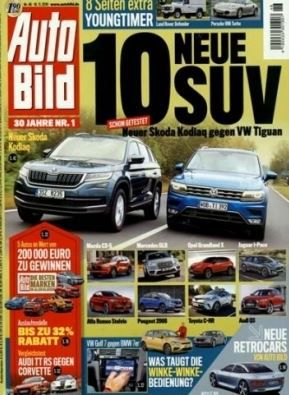 51 Ausgaben Auto Bild für 109,65€ + 80€ Gutschein