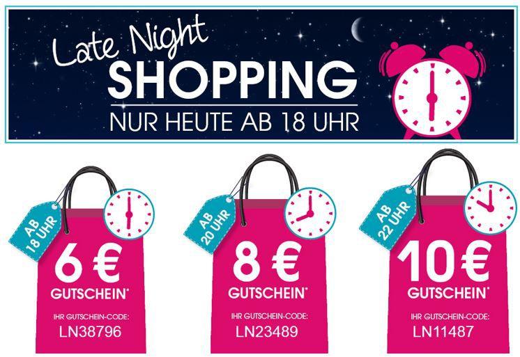 Baby Markt Late Night shopping Baby Markt Late Night Shopping mit bis zu 10€ Rabatt ab 60€